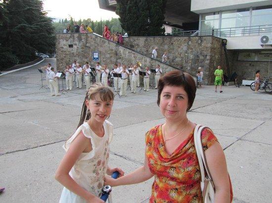 Yalta Intourist Hotel:                   Духовой оркестр в Ялте-Интурист