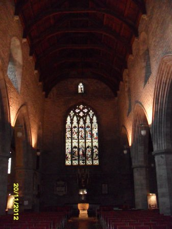 Brecon Cathedral:                   Aisle