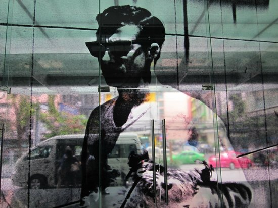 Le Méridien Bangkok:                   entrance