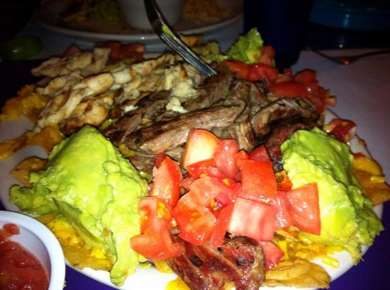 Pepe's Mexican Restaurant:                                     Botana Platter for 2--fed 4