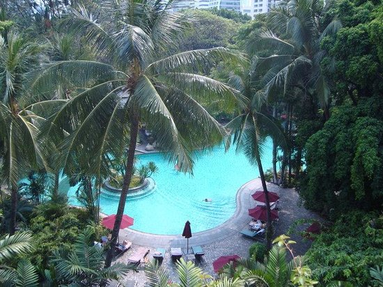 Swissotel Nai Lert Park:                                                       View from our balcony