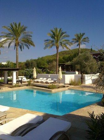 Agroturismo Atzaro:                   Una de las piscinas del recinto...