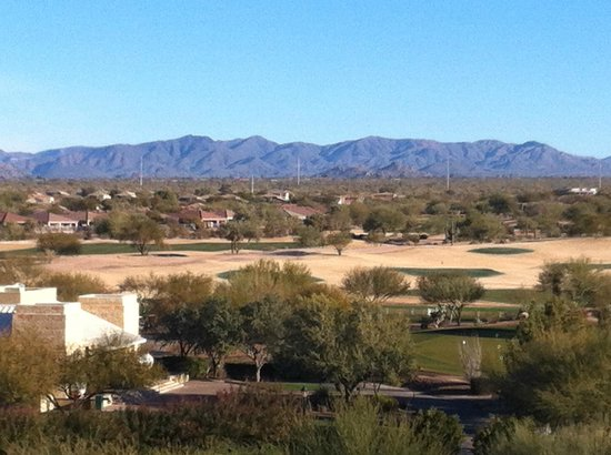 JW Marriott Phoenix Desert Ridge Resort & Spa:                   View from my balcony