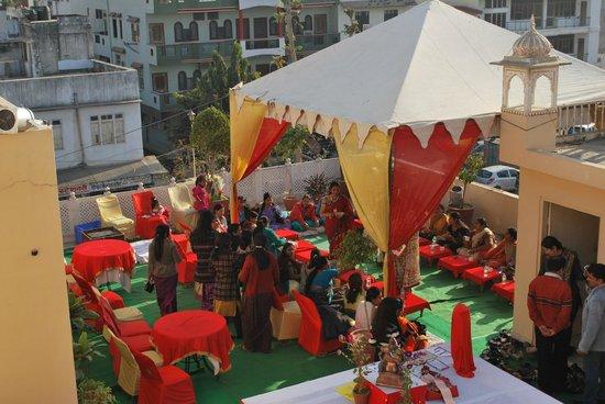 Hotel Bani Park Palace: new year celebration