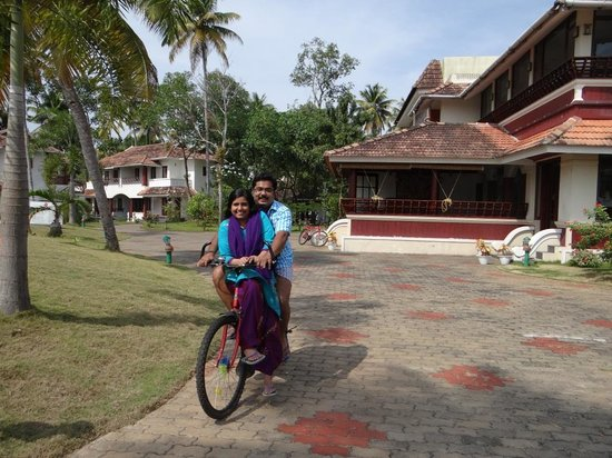 The World Backwaters:                   cycling in the resort