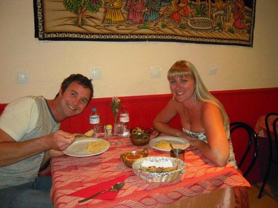 Bombay Masala:                   Very happy curry eaters!