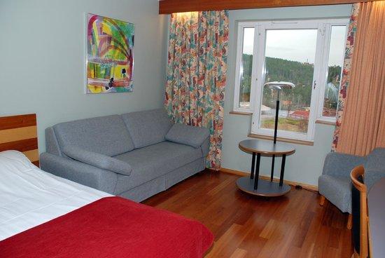 Falun, Sverige: Family room