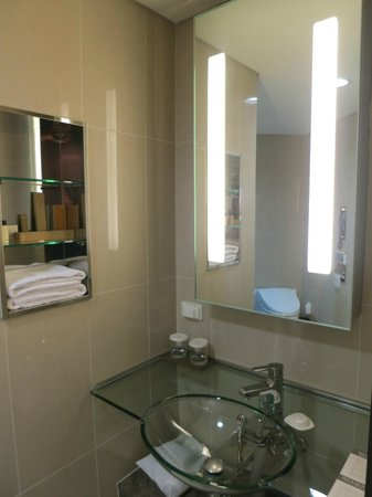 Lotte City Hotel Mapo:                   Vanity Mirror