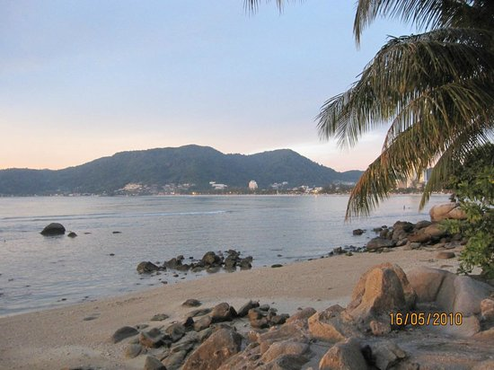 Amari Phuket: patong in the distance