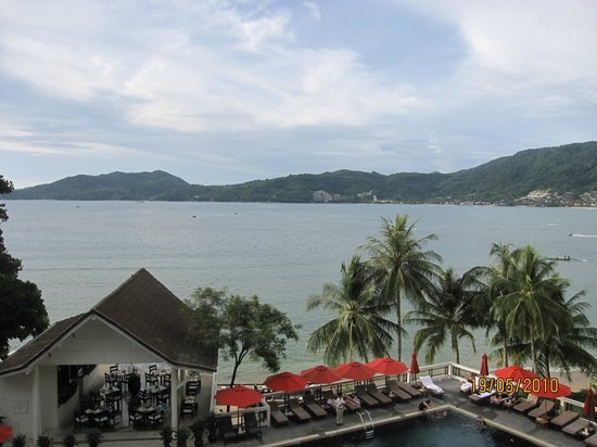 Amari Phuket: view from lobby bar