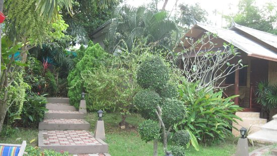 Baan Sukreep Resort:                   вид из виллы 1