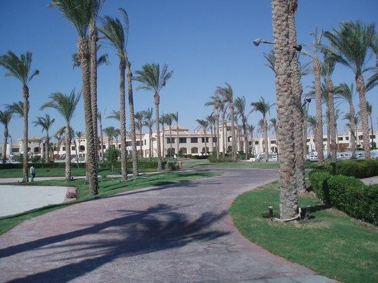 Cleopatra Luxury Resort Makadi Bay:                   Hotel Aldiana Makadi Bay Zeer mooi hotel