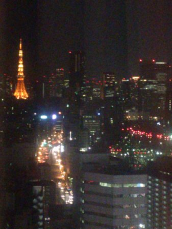 品川プリンスホテル,                   東京タワーも見えます