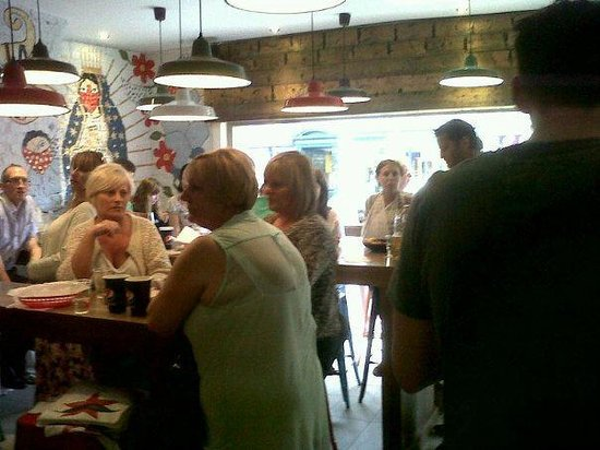 Zapatista Burrito Bar:                                     First opening