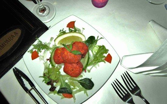 Paramparaa Indian Restaurant: tandoori mushrooms