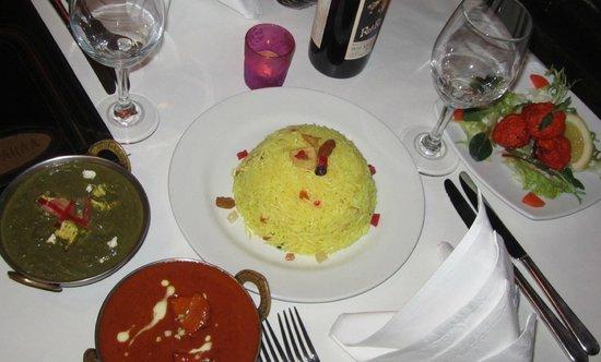 Paramparaa Indian Restaurant: kashmiri pilau