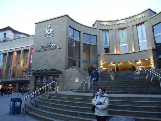 The Glasgow Royal Concert Hall :                   fachada
