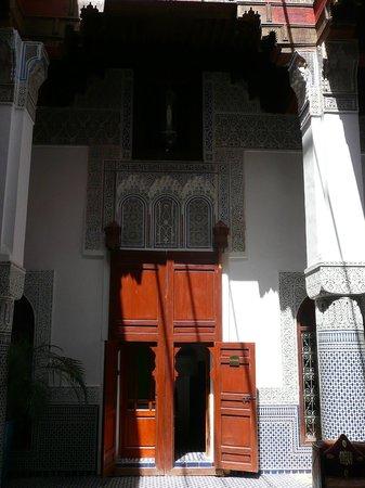 Riad d'Or Hotel:                   entrée de notre chambre