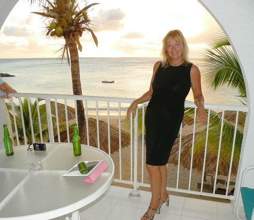 Simpson Bay Resort & Marina:                   balcony view....