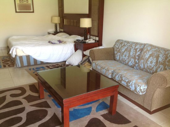 Rixos Sharm El Sheikh: Deluxe room - after we lived in it for a week!