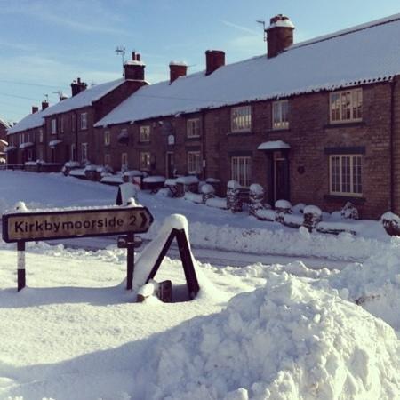 Royal Oak Inn:                   A Very Snowy Royal Oak!