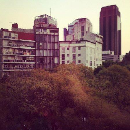 Hotel Bristol:                   Desde la ventana piso 3