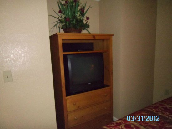Laurel Crest:                   tv in the bedroom of the larger resort room