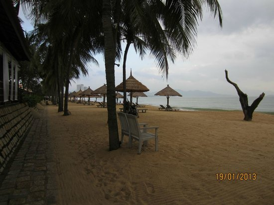 Evason Ana Mandara Nha Trang:                                                       Beach area