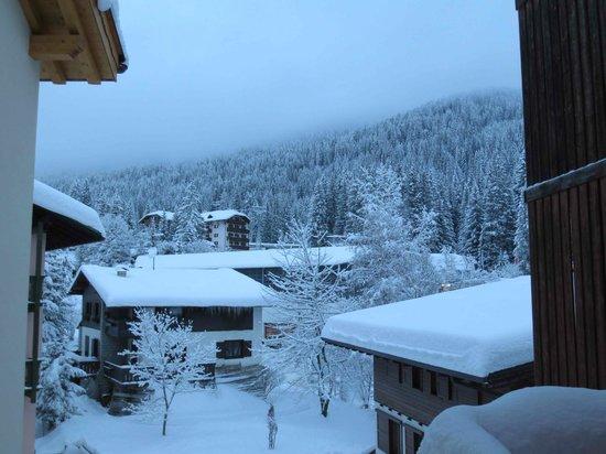 Alpen Hotel Vidi:                   view from balcony