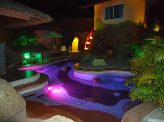 Pandora Hotel:                   The pool