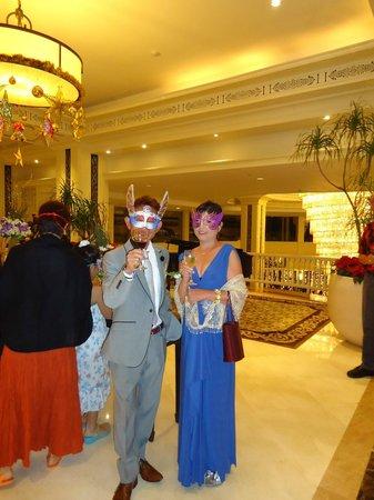 Dusit Thani Hua Hin:                   ガラパーティ