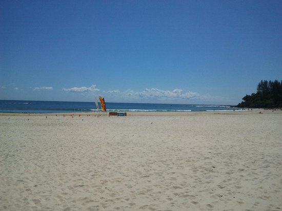 Coolangatta Beach: beach