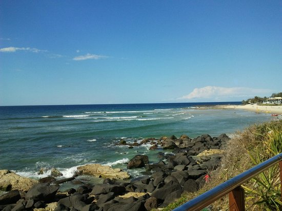 Coolangatta Beach: near the beach