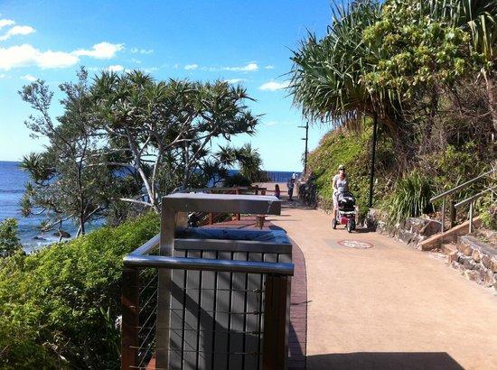 Coolangatta Beach: pathway