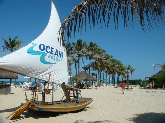 Oceani Beach Park Hotel: Playa Oceani