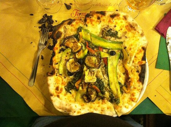 Pizza Express:                   Pizza all'ortolana