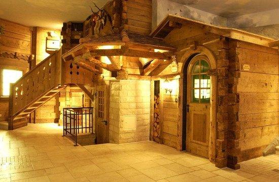 Grand Hotel Regina Grindelwald: Spa Sauna