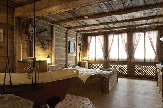 Grand Hotel Regina Grindelwald : Private Spa