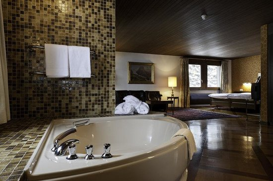 Grand Hotel Regina Grindelwald: Bathroom