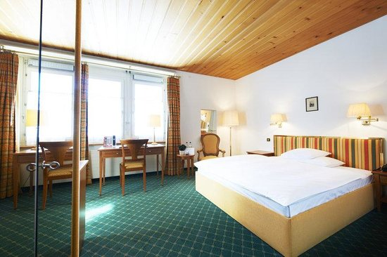 Grand Hotel Regina Grindelwald : Single Classic Room