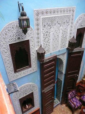 Riad Hiba Meknes:                   le patio