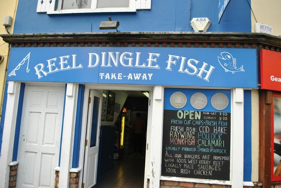 Reel Dingle Fish: entrence