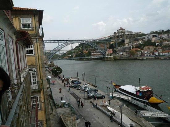 Pestana Vintage Porto:                   部屋の窓から