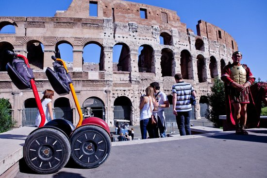 ‪EcoArt Travel - Rome by Segway‬