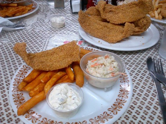 Iredell Cafe:                   They call it Cajun Catfish - I call it delicious!