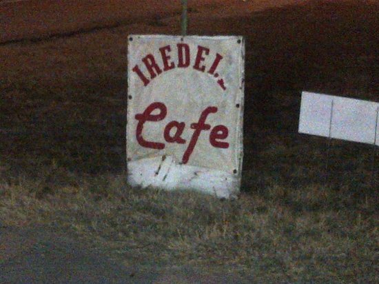 Iredell Cafe:                   Yeah, signs aren't their strong suit - which can make you drive past without s