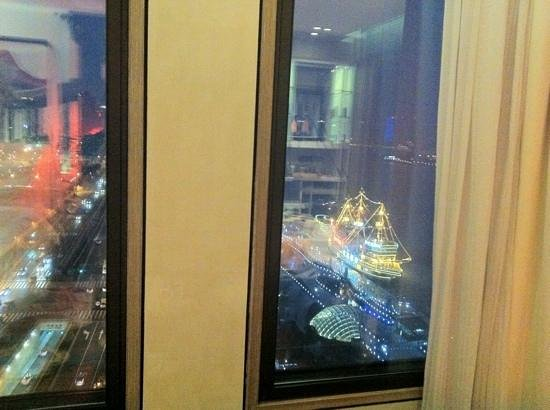Hotel Indigo Shanghai on the Bund:                   view - not stunning but okay