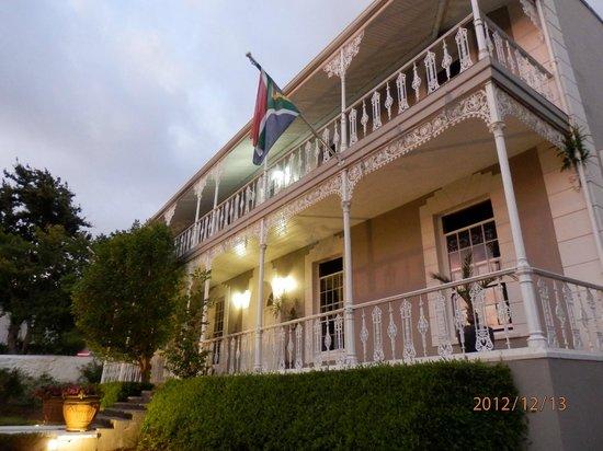 Schoone Oordt Country House:                                     Hotelgebäude