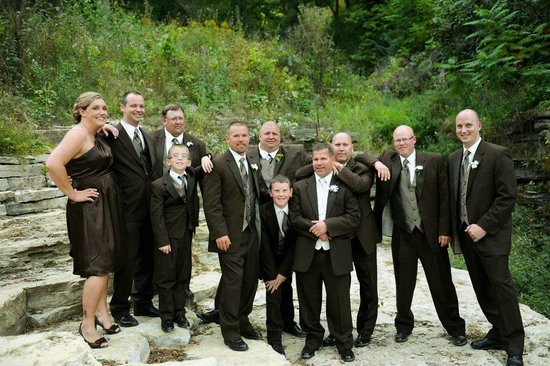 Amundsons Clothing:                   Amundsons has the largest selection of Tuxedos in the TriState area.