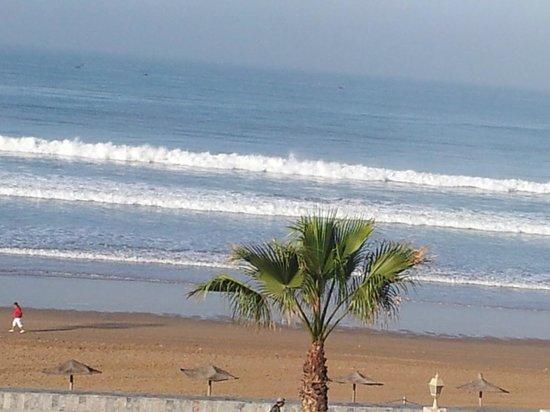 Atlas Amadil Beach Aqua Sun : vue du balcon